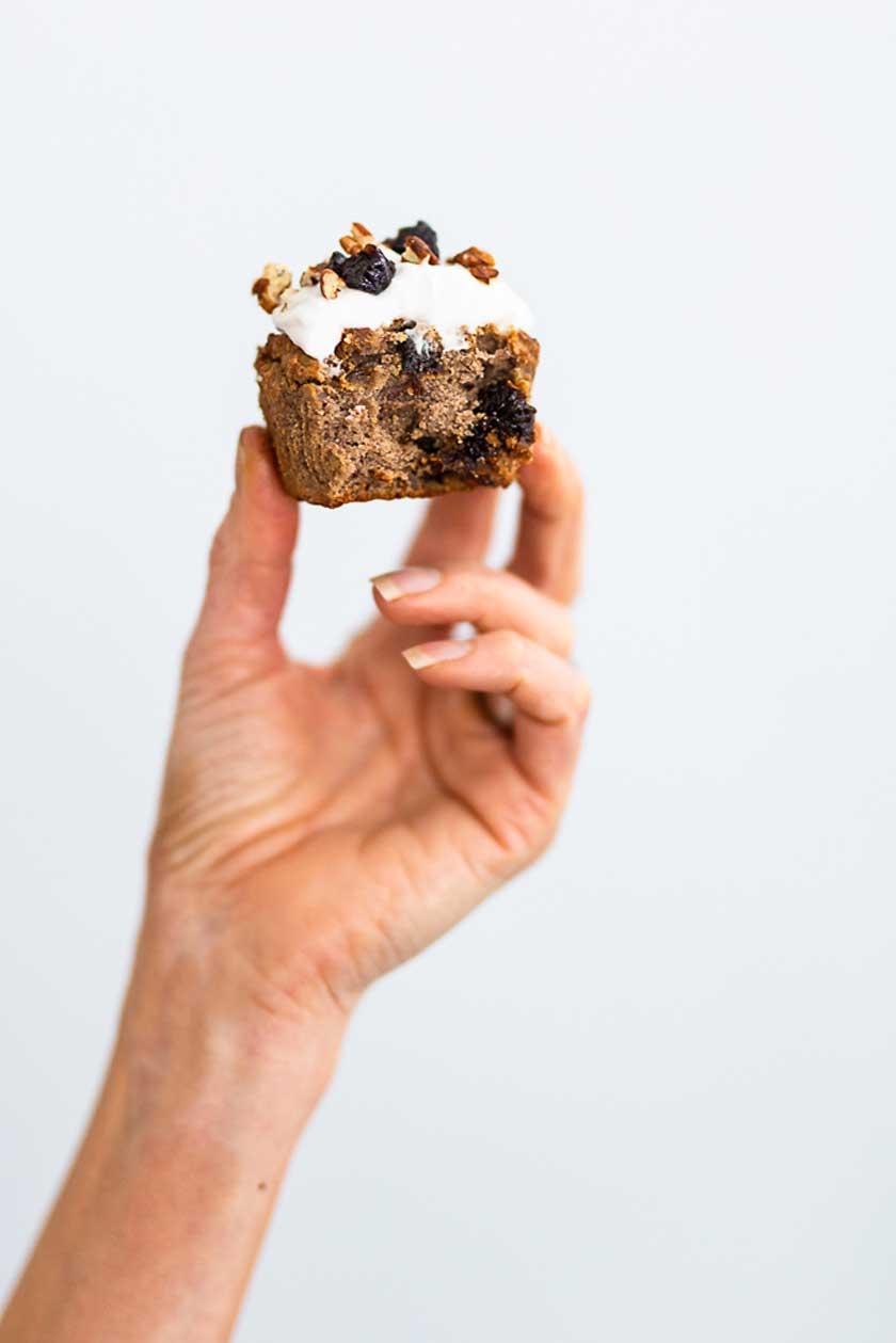 terveellinen muffinssi