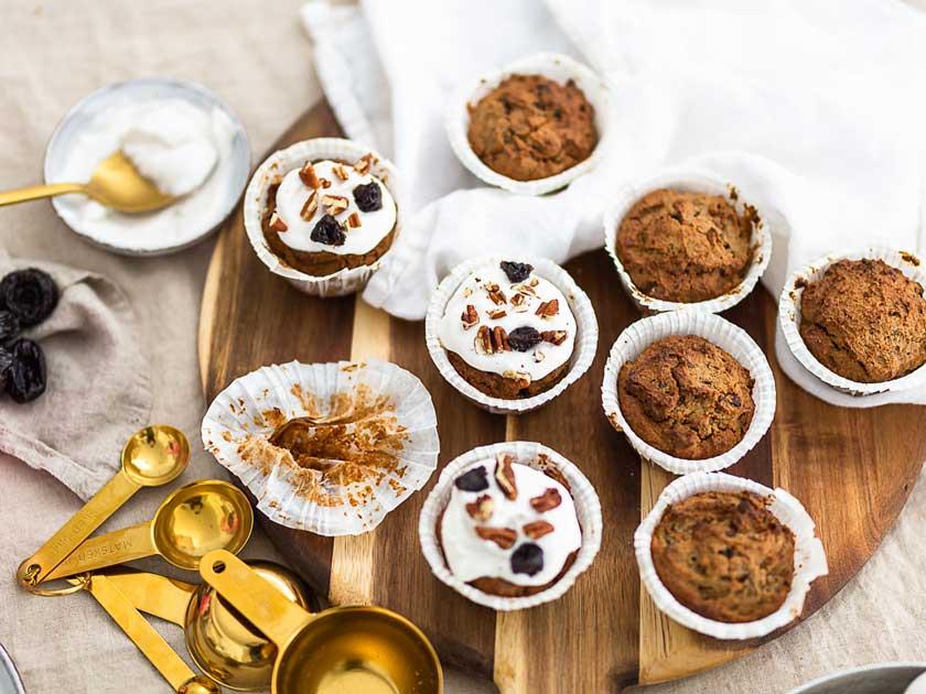 sokeriton muffinssi